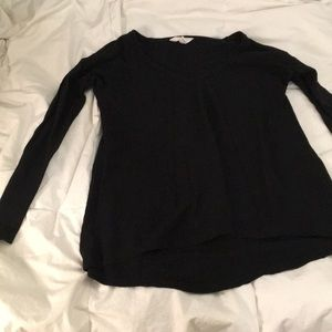 Thermal black long sleeve